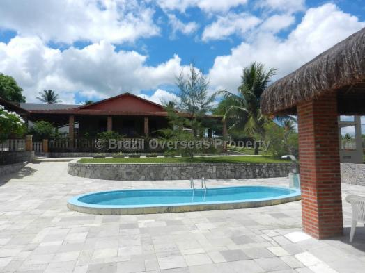 Hotel/Pousada for sale in Joao Pessoa - Main house and pool