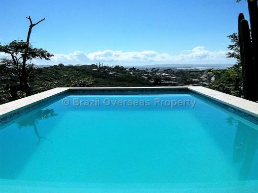 House for sale in Buzios - View from the pool