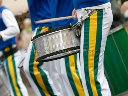 Brasil marching band