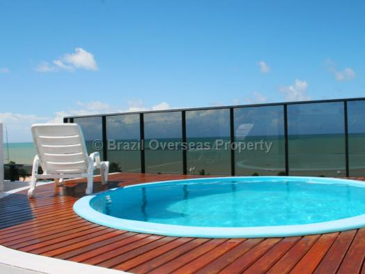 Apartment for rent in Joao Pessoa - Private rooftop plunge pool