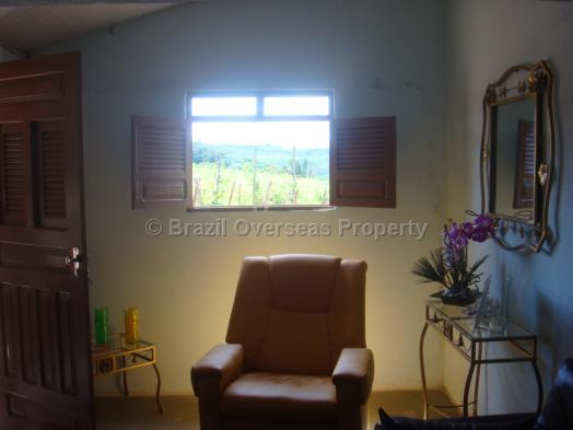 Farm for sale in Campina Grande - Lounge with a picture window view