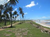 Land for sale in Joao Pessoa - Beach view to the north