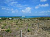 Land for sale in Pitimbu - Sea views to the east from the land
