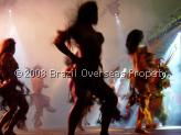 Traditional Brazilian rain forest dance