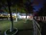 House for sale in Pitimbu - Beach house night view from garden