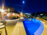 Hotel/Pousada for sale in Buzios - Pool and bar at night