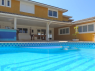 House for sale in Buzios - Pool and house view