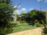 House for rent in Pitimbu - Back garden with car port