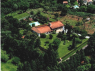 Country Home for sale in Sao Paulo - Overhead view of house and land