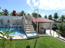 House for sale in Joao Pessoa - Steps up to sundeck and BBQ area
