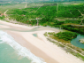 Land for sale in Pitimbu - Aerial view of Praia Bela region